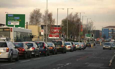 Manchester traffic