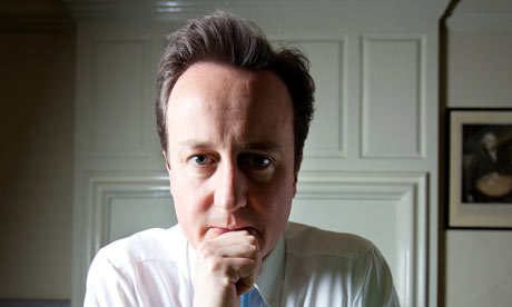 David Cameron in January 2009. Photograph: David Levene