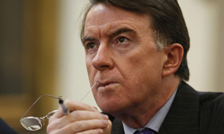 Peter Mandelson. Photograph: Frantzesco Kangaris/PA Wire