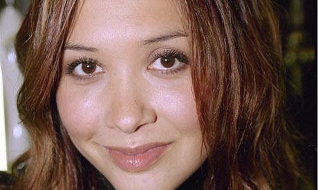 Myleene Klass, who was warned by police after waving a knife to scare off intruders