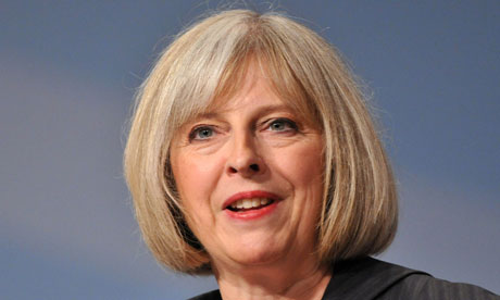Theresa May, who today warned of the growing threat of cyber warfare