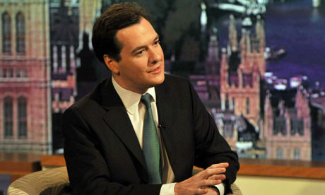 George Osborne on The Andrew Marr Show yesterday