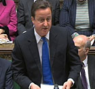 David Cameron at prime minister's questions on 8 Dec 2010