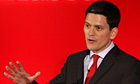 David Miliband,  formally declares his intention to stand for the leadership of the Labour party