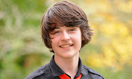 Alfie Smith, 14, who voted in the general election after being accidentally entered on the roll