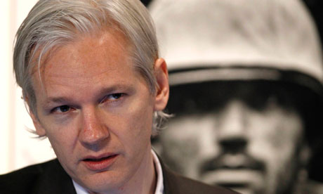 Wikileaks founder Julian Assange speaks a news conference at the Frontline Club in central London