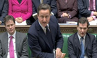 David Cameron at prime minister's questions on 12 January 2011