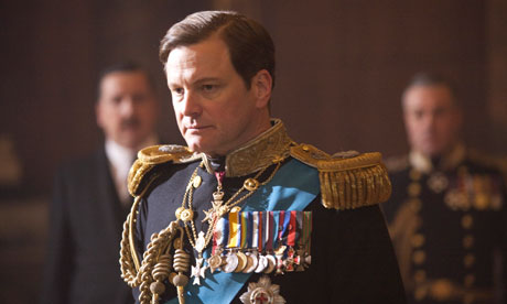 Colin Firth as Bertie (George VI) in The King's Speech