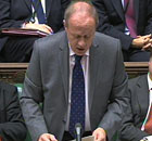 Damian Green makes a statement to MPs on the detention of terror suspects