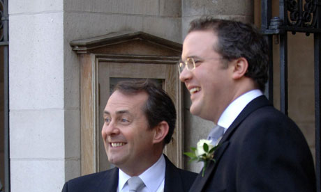 File photo from 2005 of Liam Fox and Adam Werritty