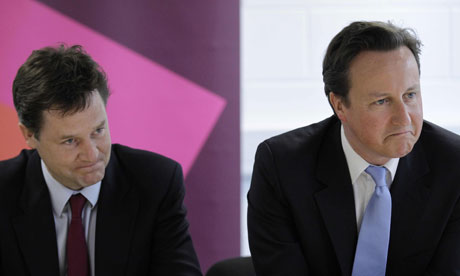 File photo of Nick Clegg and David Cameron