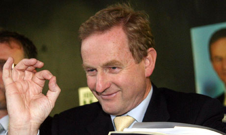 File photo of the Fine Gael leader, Enda Kenny