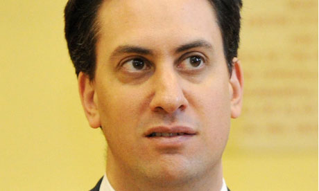 Ed Miliband, who warns of a 'cost of living crisis'