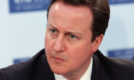 David Cameron, who will face questions from backbench Tory MPs over the UK's involvement in Libya