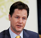 Nick Clegg, who has signalled the government is ready to make a key concession on NHS reform