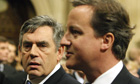 Gordon Brown's hopes of becoming head of the IMF look set to be blocked by David Cameron