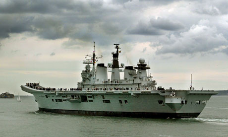 One potential target for the chop is HMS Illustrious