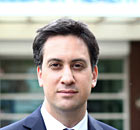 Ed Miliband, who has written a preface to a 'Blue Labour' e-book