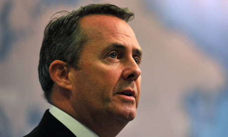 Liam Fox delivers his Chatham House speech