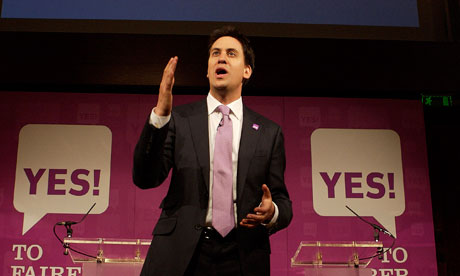 Ed Miliband, who has urged voters not to use the AV referendum to 'kick Nick Clegg'