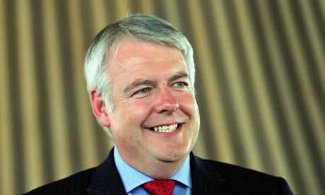 Carwyn Jones in the Senedd in Cardiff, after votes were counted in the Welsh assembly elections