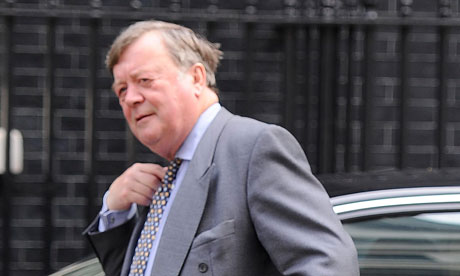 Kenneth Clarke, whose plans to offer 50% sentence discounts have been ditched