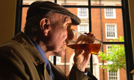 A new report, Our Invisible Addicts, urges the over-65s to cut down on the booze