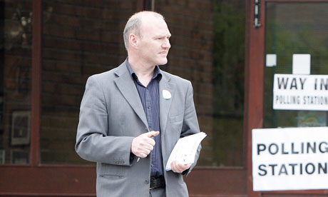 Sinn Féin's Paul Maskey, who is standing in Thursday's West Belfast byelection