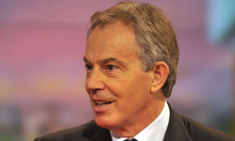 Tony Blair, who says the west needs wider plan for Middle East