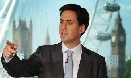 Ed Miliband, who has called for Rupert Murdoch to drop his bid for BSkyB