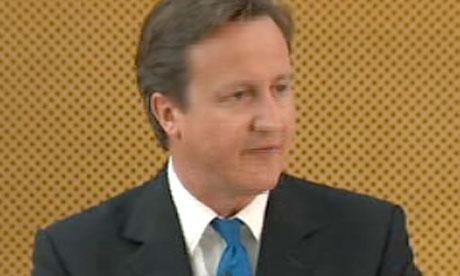 David Cameron unveils has plans to reform public service delivery