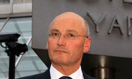 Sir Paul Stephenson, who resigned as the Met police chief on Sunday