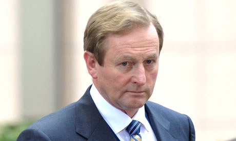 Enda Kenny, who this week launched an unprecedented attack on the Vatican