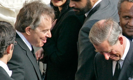 According to Alastair Campbell's diaries, Tony Blair gave Prince Charles a dressing down