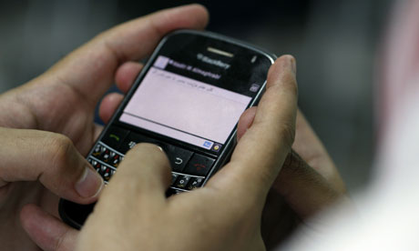 Police thwarted planned riots with the help of intelligence garnered from BlackBerry messages