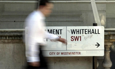 The number of civil servants and quango chiefs on salaries over £150,000 has been cut by over 50