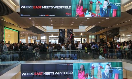 Westfield Stratford City opens its doors