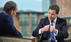 Nick Clegg on The Andrew Marr Show