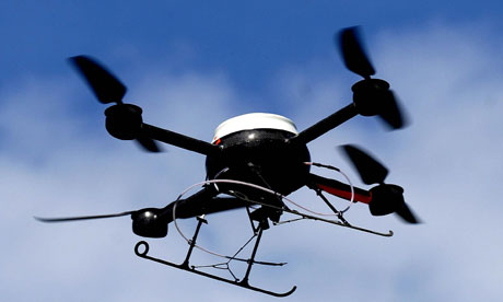 Showmanship applies to make use of drones upon film shows