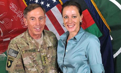Daviud Petraeus and Paula Broadwell