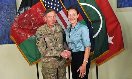 Broadwell and Petraeus