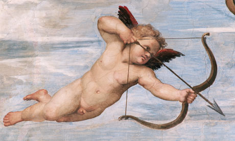 Detail of Cupid from Galatea by Raphael