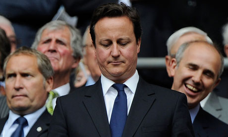 David Cameron at Wembley