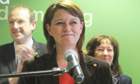 Leanne Wood, the new leader of Plaid Cymru