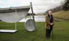 Sir Anthony Caro unveils the Caro At Chatsworth exhibition