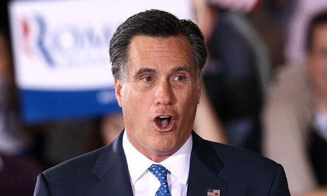 Mitt Romney urges Republican rivals to quit presidential race | World news