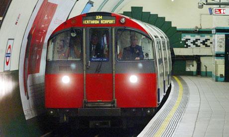 Tube maintenance staff back strikes