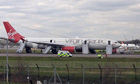 Emergency landing at Gatwick Aarport
