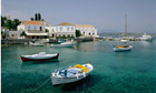 Spetses in Greece