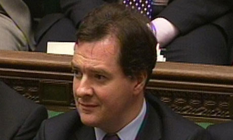 George Osborne in the Commons